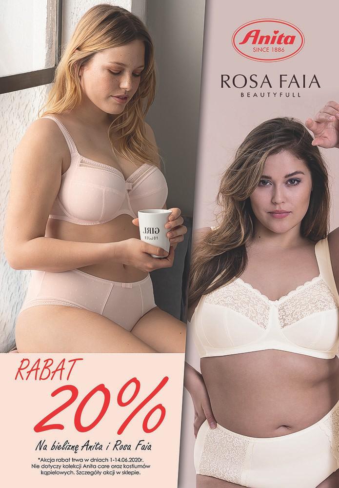 Rabat 20 % na bieliznę Anita i Rosa Faia