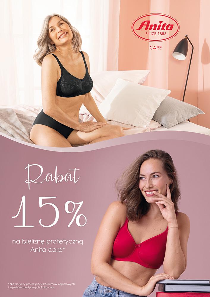 Biustonosze dla amazonek - Rabat 15 %